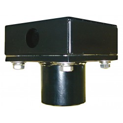 Videolarm CA15 Ceiling Mt Adptr Junction Box, 1-1/2in NPT Conduit Hole