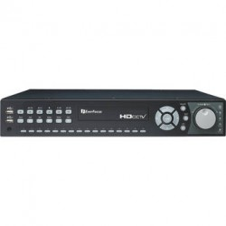 Everfocus EDRHD2H14/4T Hybrid Digital Video Recorder with 2-Channel 1080p HD, 14-Channel Analog DVR, 4TB