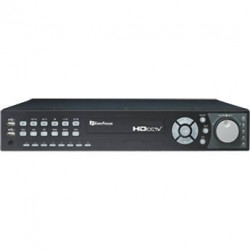 Everfocus EDRHD4H4/6 Hybrid Digital Video Recorder with Endeavor 4-Channel HD CCTV , 6TB