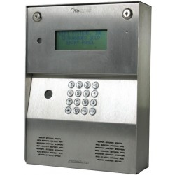 Keri Systems EGS-750HS Entraguard Silver - Large font LCD Display, 750 Tenant Capacity with Handset