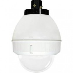 "Moog FDP75C12N IP Network Ready 7"" Outdoor Dome Housing with Pendant Mount"