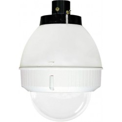 Videolarm FDP75T2NAX IP 7in Outdoor dome Hsg Pendant Mount. Tint, H/B for AXIS PTZ Camera