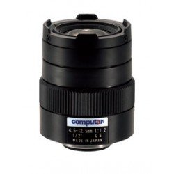 Computar H3Z4512CS-IR 1/2-inch 4.5-12.5mm f1.2 Varifocal, Manual Iris