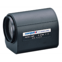 Computar H6Z0812AMS 1/2-inch 6X Motorized Zoom Lens (C-Mnt)