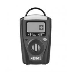 Macurco HS-1XL Hydrogen Sulfide H2S Single-Gas Monitor with STEL
