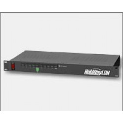 Altronix HubWayLDH8 8 Channel Active UTP Transceiver Hub, Rack Mount