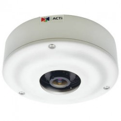 ACTi I71 5Mp Outdoor D/N Network Hemispheric Fisheye Vandal Dome