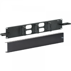 ICC ICCMSCMP32 Cable Management Metal Ring Panel, 2U