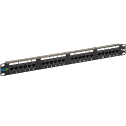 ICC ICMPP0245E 24-Port Cat 5e Data Patch Panel, 1 RMS