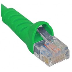 ICC ICPCSJ25GN Molded Boot Patch Cord, Green, 25 Ft.