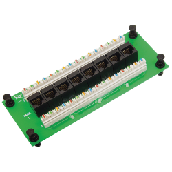 ICC ICRESDPB3C 8-Port Compact CAT 6 Data Module