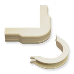 "ICC ICRW11OBIV 3/4"" Outside Corner & Base- Ivory 10Pk"