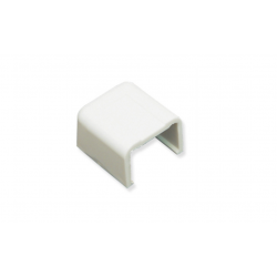 "ICC ICRW44ECWH 1 3/4"" End Cap - White"