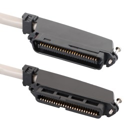 ICC ICPCSTFM25 25-Pair Cable Assembly - Female to Male 90 degree - 25'