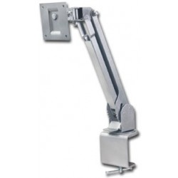 Video Mount Products LCD-2 SILVER- Table/Desk Mt Universal 10-23in LCD