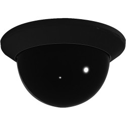 Pelco LD4B-0 Lower Dome for Spectra Mini Series, Black, Smoked Bubble