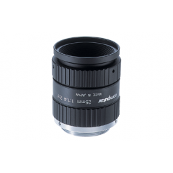 Computar M2514-MP2 2/3-inch 25mm f1.4 w/locking Iris & Focus, Megapixel (C Mount)