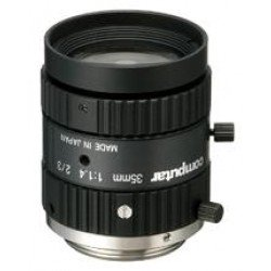 Computar M3514-MP 2/3-inch 35mm f1.4 w/locking Iris & Focus (C Mount)