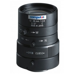 Computar M3Z1228C-MP 2/3-inch 12-36mm Varifocal, Manual Iris (C Mount)