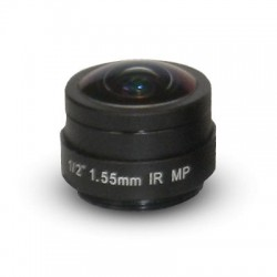 Arecont Vision MPL1.55 1.55mm, 1/2 in., f1.8, Fisheye Lens