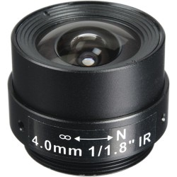 Arecont Vision MPL4.0 4mm, 1/1.8 in., f1.8, Monofocal Lens