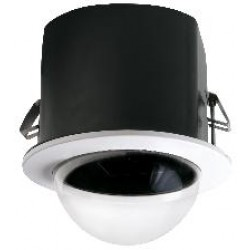 Videolarm MR5C 5-inch Recessed Ceiling mt dome hsg, tinted, fixed bracket, decorative trim ring, includes liner