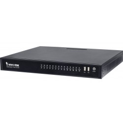 Vivotek ND8322P-3TB 8-Channel Plug & Play NVR with 8 PoE Ports, 3TB
