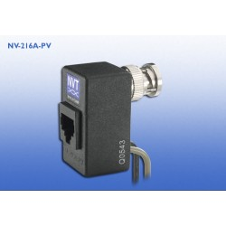 NVT NV-216A-PV Single Channel Power-Video Transceiver