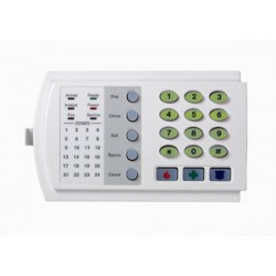 Interlogix NX-124E NetworX 24-Zone LED Keypad