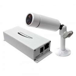Speco O2MB1W 2Mp Outdoor Network Mini Bullet Camera, 3.7mm