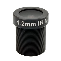 ACTi PLEN-0114 IR Fixed Iris Megapixel Board Lens, 4.2mm