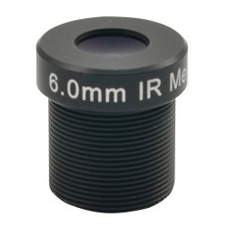 ACTi PLEN-4104 IR Fixed Iris Megapixel Board Lens, 6mm
