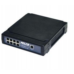 Pelco POE4ATN-US 4-Port IEEE802.3at Compliant PoE Midspan with US Power Cord
