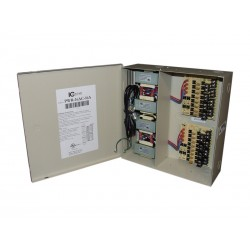 ICRealtime PWR-16AC-16A 16 Output 16-Amp Power Supply, 24VAC