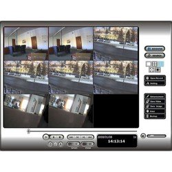 NUUO SCB-IP+ 01 IP Plus Digital Surveillance System, 1 License