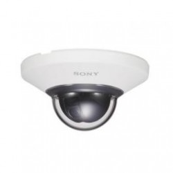 Sony SNC-DH110T-W-R Network 720p HD, 1.3 Megapixel Impact Resistant Minidome Camera -Refurbished