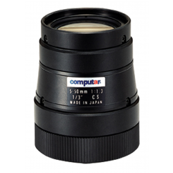 Computar T10Z0513CS 1/3-inch 5-50mm f1.3 Varifocal, Iris (CS Mount)