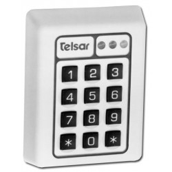 United Security Products T3-WHITE Self Contained, Surface Mount Digital