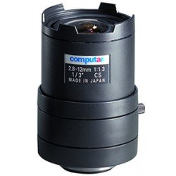 Computar T4Z2813CS-IR 1/3-inch 2.8-12mm f1.3 Varifocal, Manual Iris