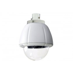 Sony UNI-IRS7C3 7-inch Indoor Vandal Resistant Housing, Pendant Mount for SNC-RZ50N & SNC-RZ30N, No Electronics, Clear Dome