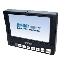 Weldex WDL-8001M 8-in TFT LCD Compact Test Monitor with Integrated Audio, Composite Video Input