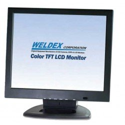 Weldex WDL-1900M 19-inch LCD Monitor w/Accs - Desk Top Stand Incl