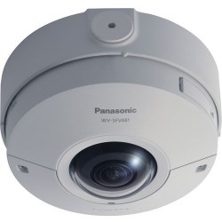 Panasonic WVSFV481 9 Megapixel 4K Ultra HD Outdoor 360 Degree Panoramic Network Camera