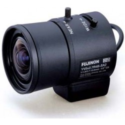 Fujinon YV5X2.7R4B-SA2L 1/3-inch 2.7-13.5mm F1.3 Day/Night Aspherical DC Auto-Iris Vari-Focal Lens