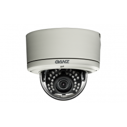 Ganz ZC-DNT8312NBA-IR 600TVL Outdoor IR Vandal Dome, 3.3-12mm