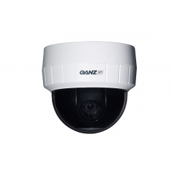 Ganz ZN-D1MTP PixelPro 720p HD Day/Night Network Dome Camera, 3-9mm