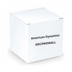 American Dynamics ADCIP6OWALL Outdoor 6 Inch Dome Blower Wall Mount