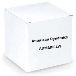 American Dynamics ADMMPCLW Pole Clamp White