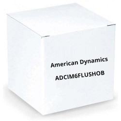 American Dynamics ADCIM6FLUSHOB Illustra Flush Mount Kit (Black)