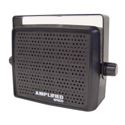 Speco AES4 10W Amplified Deluxe Professional Communications Speaker